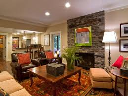 Traditional Decorating Ideas Living Room Living Room With Brick Fireplace Decorating Ideas