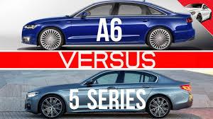 audi s6 vs 2017 audi a6 vs 2017 bmw 5 series