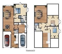 Bedroom Floor Plans Rosewood Floor Plans Franklin Communities