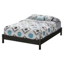 Oak Platform Bed Timeless Platform Bed Gray Oak South Shore Target