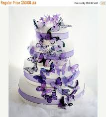 New Years Decorations On Sale by New Year Sale 50 Mauve And Purple Mixed Butterflies Great For Cake