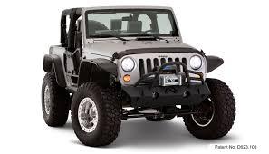 jeep wrangler 2017 matte black bushwacker flat style fender flares for jeep jk wrangler 10919 07