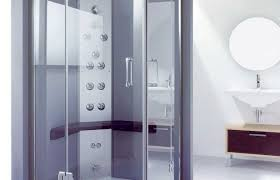 Satin Glass Shower Door by Shower Awesome Half Glass Shower Door Glass Furniture Bathroom