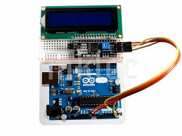 how to use iic i2c serial interface module for 1602 lcd display