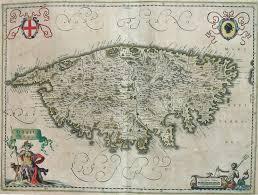 Corsica Map Corsica Insula Michael Jennings Antique Maps And Prints