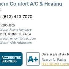 Southern Comfort Review Southern Comfort Ac U0026 Heating 23 Reviews Heating U0026 Air