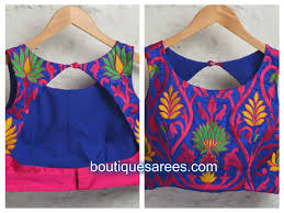 net blouse pattern 2015 blouse front and back neck design collection latest boutiquesarees com