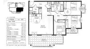 plan maison 80m2 3 chambres plan de maison 100m2 5 mod232le de plans de villa de