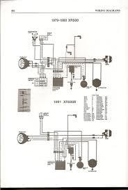 xr500 wiring diagram honda wiring diagrams instruction