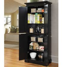 kitchen alluring brown finish freestanding kitchen pantry cabinet