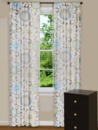 Yellow And Grey Curtain Panels Modern Floral Curtain Panels Drapes Spa Blue Yellow Grey