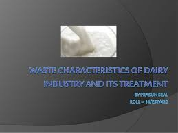 ef ef industries l dairy industry waste its treatment