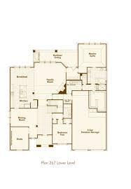 Single Family Home Plans by New Home Plan 267 In Prosper Tx 75078