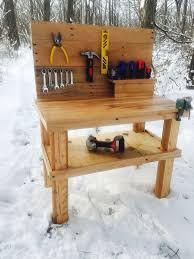 diy pallet work table pallet workbench