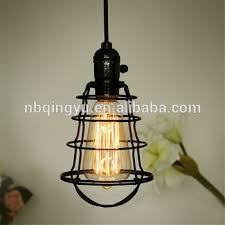 wire light bulb cage industrial retro metal wire light bulb guard vintage black bird cage