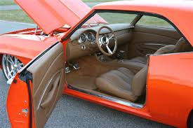 Custom Car Interior Upholstery Scott Whidby U0027s 1969 Camaro Custom Leather Interior Interiors By
