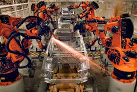 volkswagen germany factory assembly robot kills worker at volkswagen plant in germany