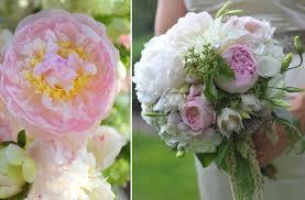 Wedding Flowers Peonies Wedding Flowers Light Pink Peony Bridal Bouquet