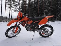 ktm 250 exc f valkokilpinen 250 cm 2007 heinola motorcycle