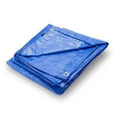 grizzly tarps 8 x 10 feet blue multi purpose waterproof poly tarp