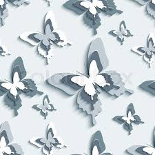 modern stylish background seamless pattern with flying white gray