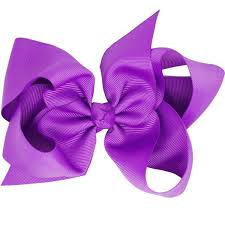 big bows for hair grace purple big bow hair clip accessory for pretty
