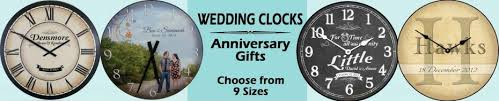 wedding clocks gifts customizable large wall clocks big clocks the big clock store