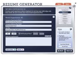 Free Online Resume Generator by Download Resume Generator Haadyaooverbayresort Com
