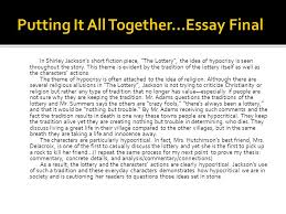 themes in the story the lottery grade 9 literature theme ppt video online download