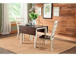 leaf dining room table intercon dining room glennwood drop leaf dining table
