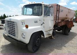 1974 ford 7000 feed mixer truck item j6113 sold june 8