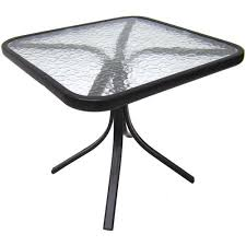 Glass Side Table Mainstays Square Outdoor Glass Top Side Table Walmart Com