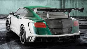 mansory bentley ngk torque facelift