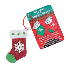 the legend of the christmas stocking u201d christmas ornament craft kit