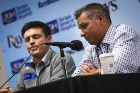 Baseball Bench Coach Duties Tom Foley Leaves Bench Coach Job To Kick Off Rays U0027 Offseason