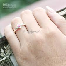 womens ring size 2018 women ruby wedding band silver ring size 8 wed j8072
