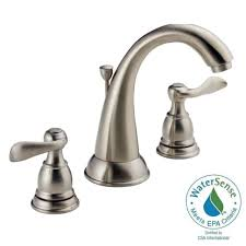 Moen Brushed Nickel Faucets Bathrooms Design Inch Spread Bathroom Faucet Decorating Ideas