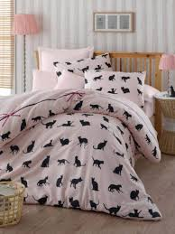 Cath Kidston Single Duvet Cover Bedding Set Single Duvet Quilt Cover Cat Animal Pink Kitty Girls
