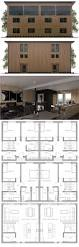 4 Bedroom Duplex Floor Plans 44 Best Duplex House Plans Images On Pinterest Duplex House