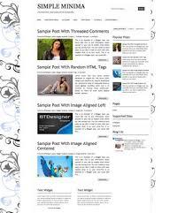 minima blogger template minima colored 2 responsive blogger