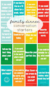 family dinner conversation starters starters dinners and phone