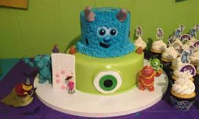 easy monsters inc cakes and cupcakes