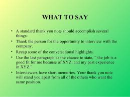 What To Say At Interviews