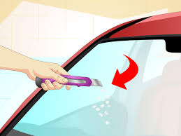 how to join broken glass how to repair a windshield with pictures wikihow