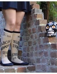 halloween knee socks ouija board women u0027s knee high socks socksmith fashion socks