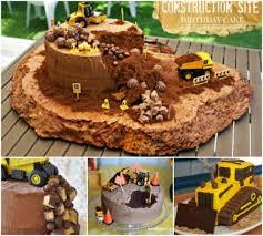 construction birthday cake construction cake ideas easy