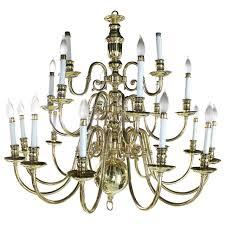 antique chandelier large vintage brass candelabra chandelier for sale at 1stdibs