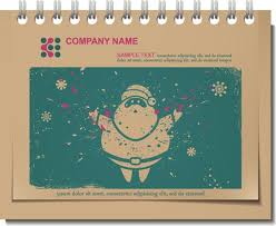 vintage christmas vector labels