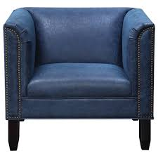 Nailhead Accent Chair Donny Osmond Home Accent Seating Accent Chair With Nailhead Trim