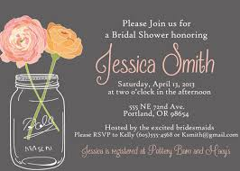 jar wedding invitations jar bridal shower invitation template bridal shower
